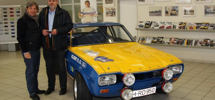 Mit Walter Röhrl beim MSC Trittau zur 32. ADAC Stormarn Rallye