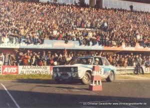 """03/1980 WM-Titelgewinn Rallye Portugal: legendärer Sieg """"Nebelfahrt Agamil"""""""